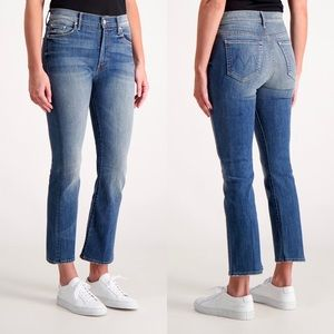 Mother The Insider Crop Double Trouble Jeans